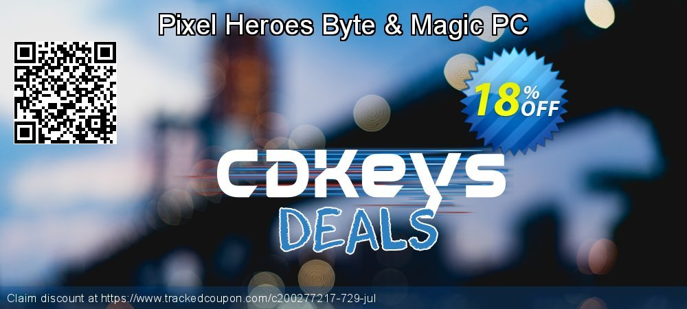 Get 10% OFF Pixel Heroes Byte & Magic PC promo