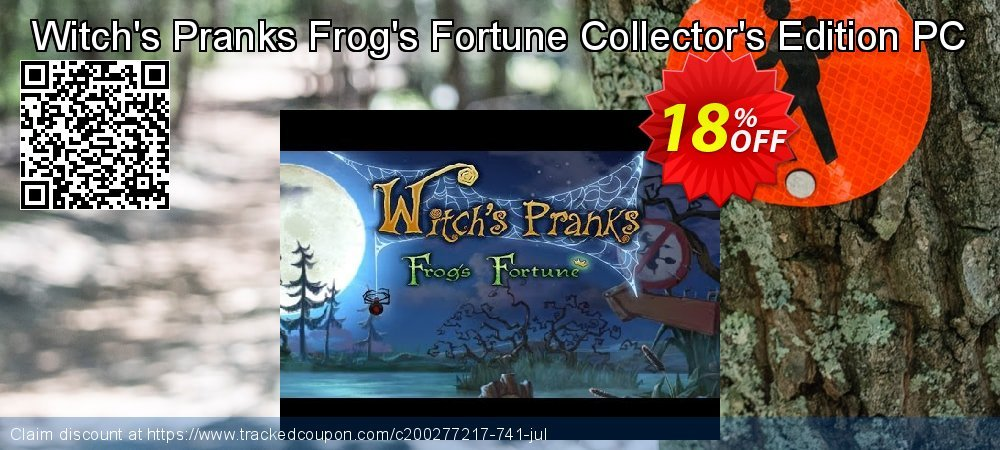 Witch's Pranks Frog's Fortune Collector's Edition PC coupon on New Year's Day discount