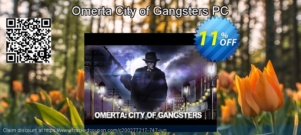 Omerta City of Gangsters PC coupon on American Independence Day super sale