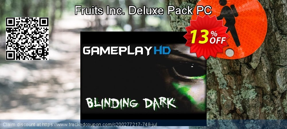 Fruits Inc. Deluxe Pack PC coupon on Back to School deals sales
