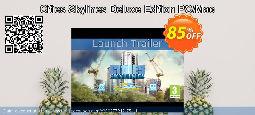 Cities Skylines Deluxe Edition PC/Mac coupon on Mothers Day discounts