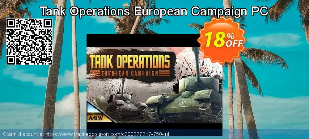 Tank Operations European Campaign PC coupon on Back to School offer offer
