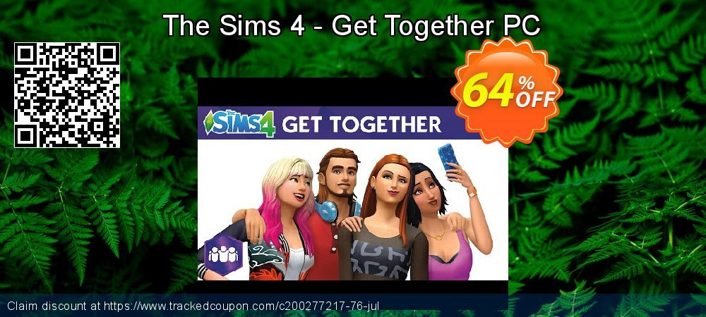 The Sims 4 - Get Together PC coupon on Mom Day promotions