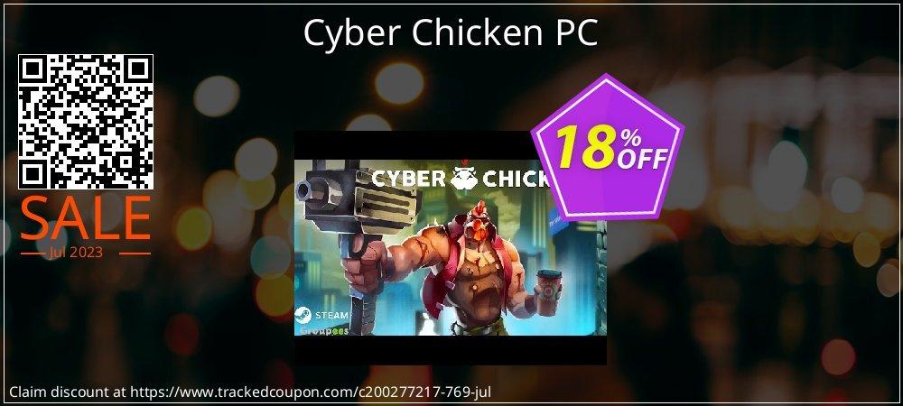 Get 10% OFF Cyber Chicken PC offering sales