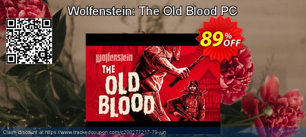 Wolfenstein: The Old Blood PC coupon on Mothers Day offer