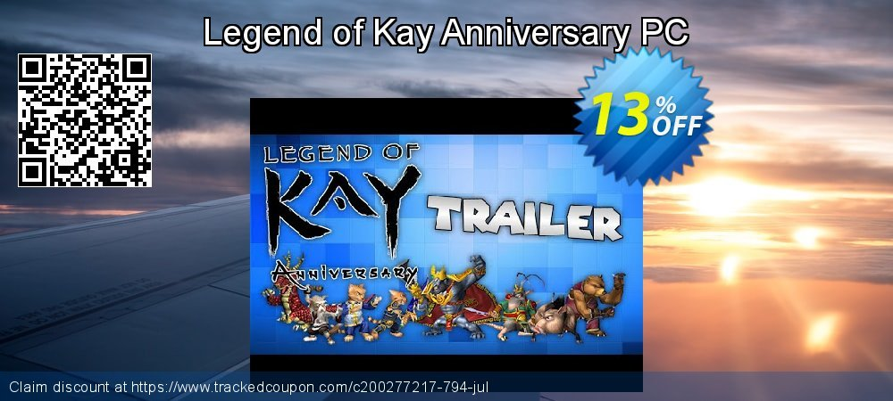 Get 10% OFF Legend of Kay Anniversary PC promotions