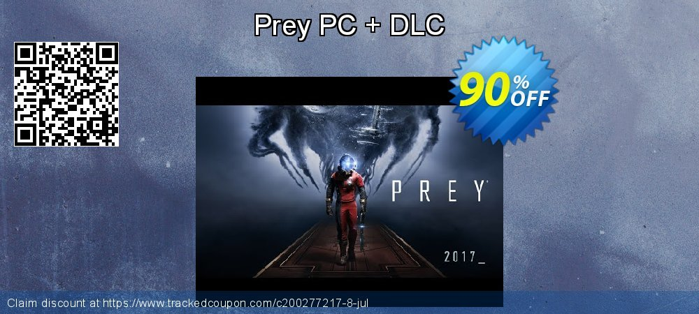Prey PC + DLC coupon on Mom Day discount