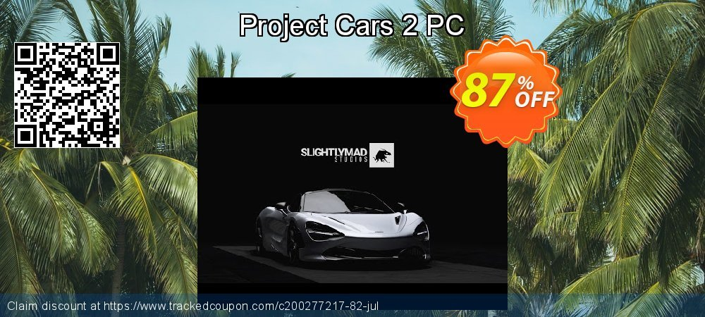 Project Cars 2 PC coupon on Mom Day offering sales