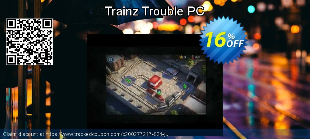 Trainz Trouble PC coupon on 4th of July offer