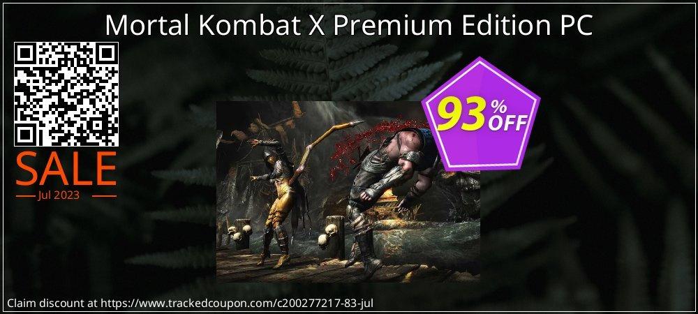 Mortal Kombat X Premium Edition PC coupon on Mothers Day super sale