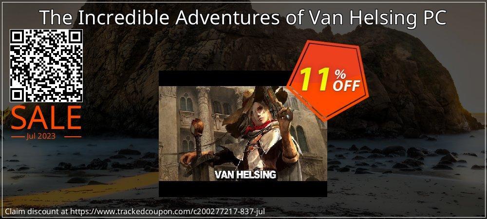 Get 10% OFF The Incredible Adventures of Van Helsing PC deals