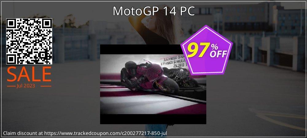 Get 95% OFF MotoGP 14 PC deals