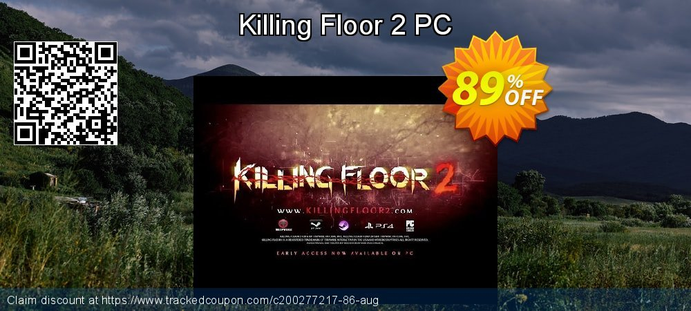Killing Floor 2 PC coupon on Mom Day sales