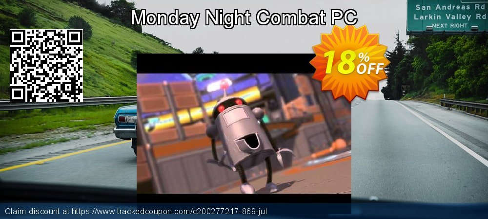 Monday Night Combat PC coupon on Cheese Pizza Day offering discount