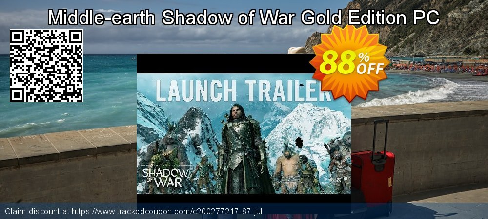 Middle-earth Shadow of War Gold Edition PC coupon on Mothers Day deals