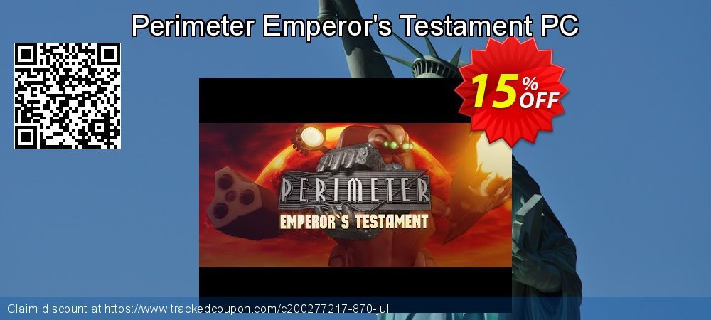 Perimeter Emperor's Testament PC coupon on World Bollywood Day offering sales