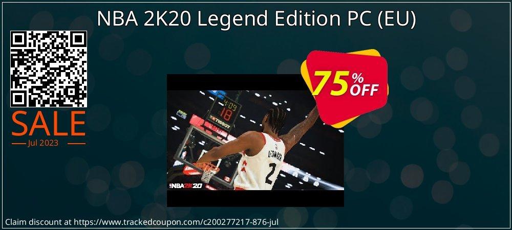 NBA 2K20 Legend Edition PC - EU  coupon on Valentine Week deals
