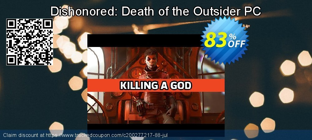 Dishonored: Death of the Outsider PC coupon on Mom Day offer