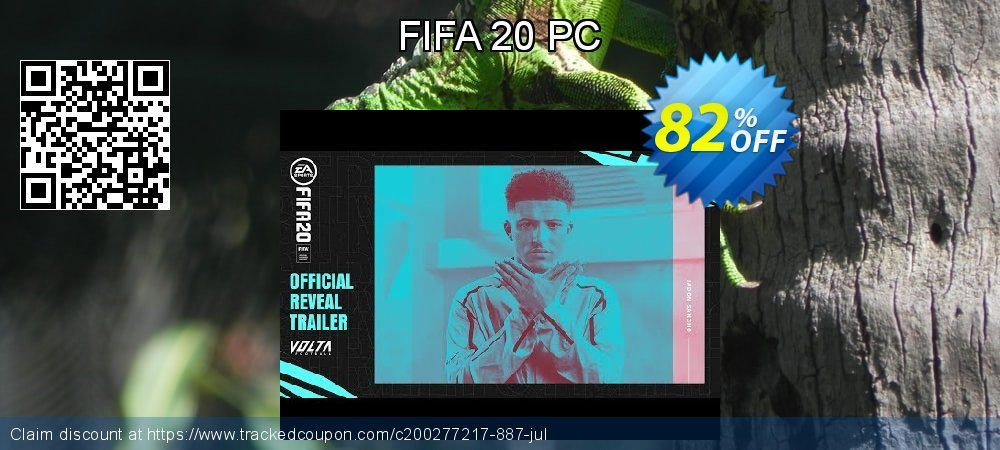 FIFA 20 PC coupon on World Bollywood Day offering discount