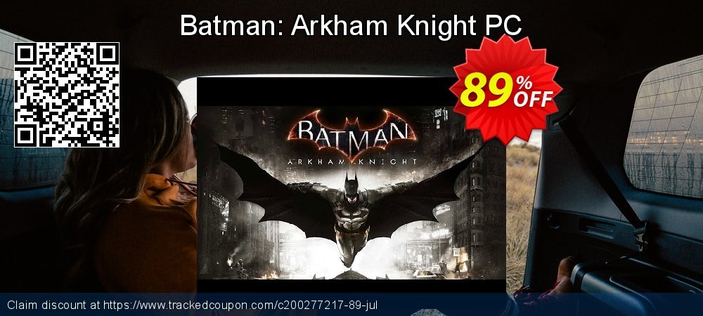 Batman: Arkham Knight PC coupon on Mothers Day discount