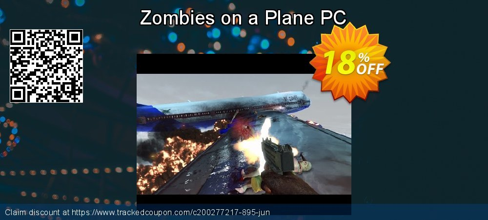 Zombies on a Plane PC coupon on Lazy Mom's Day discount