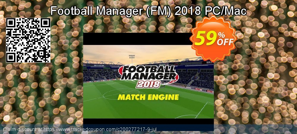 Football Manager - FM 2018 PC/Mac coupon on Mothers Day offering discount