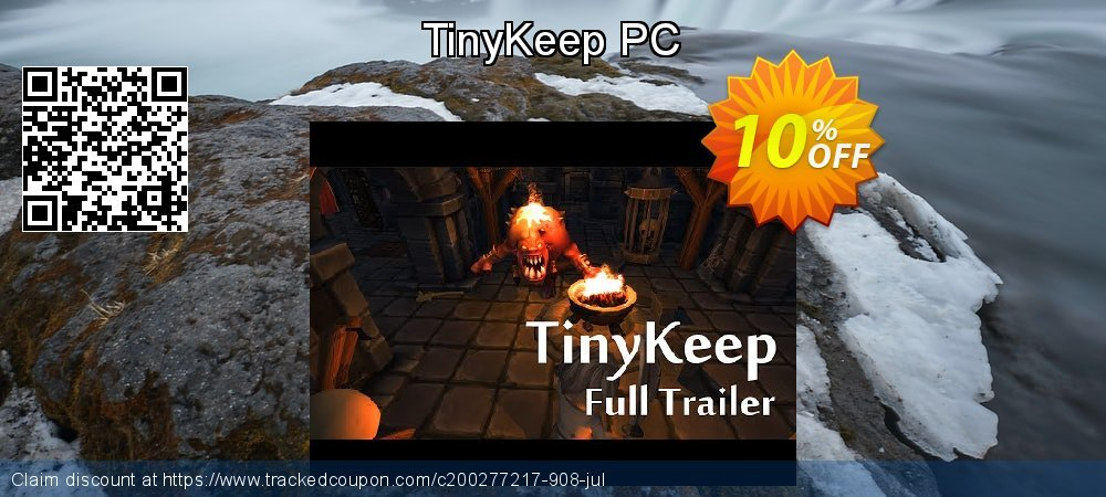 Get 10% OFF TinyKeep PC offering sales