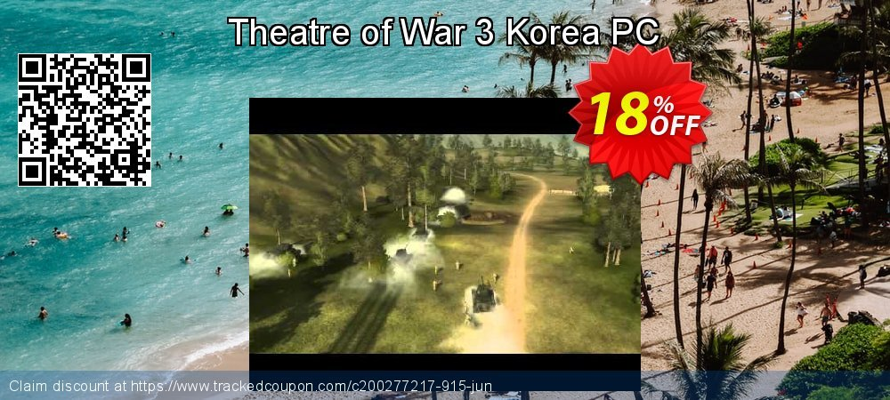 Theatre of War 3 Korea PC coupon on Back to School offering sales