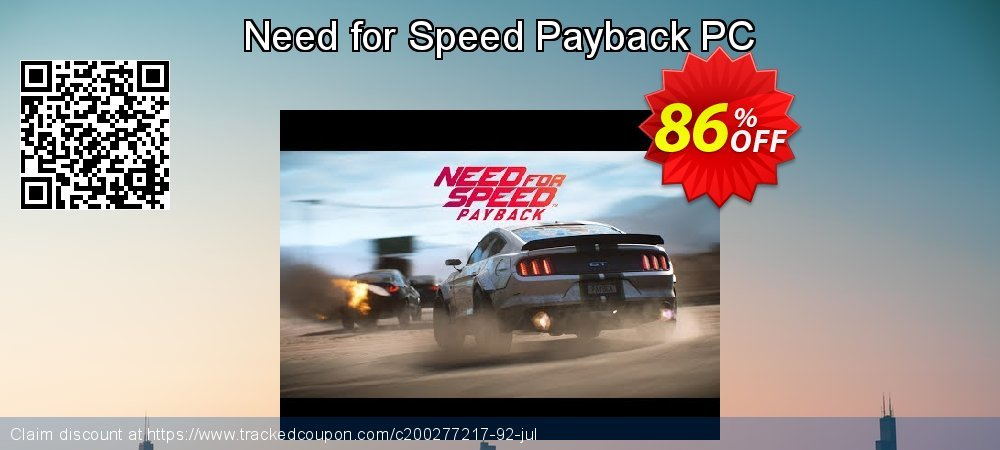 Need for Speed Payback PC coupon on Mom Day super sale