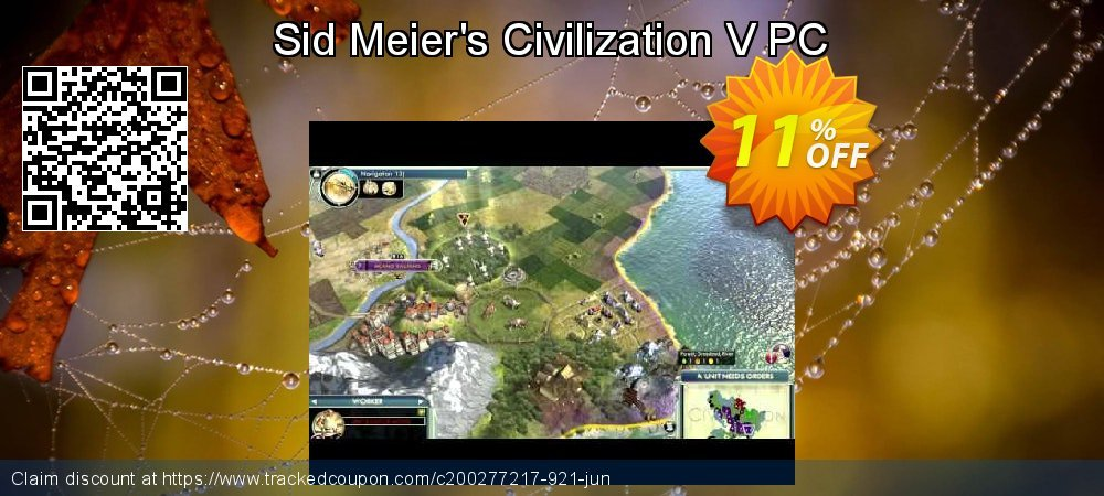 Sid Meier's Civilization V PC coupon on World Bollywood Day offer