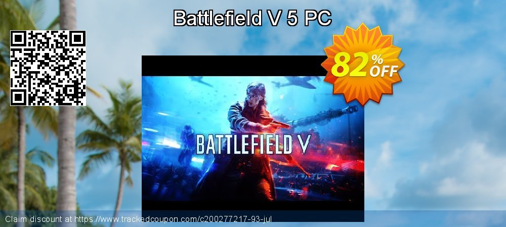 Battlefield V 5 PC coupon on Mothers Day discounts