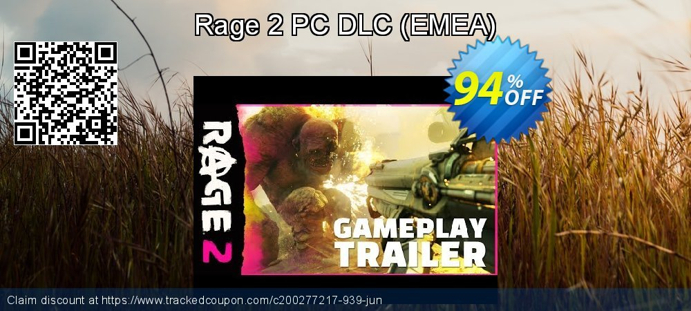 Rage 2 PC DLC - EMEA  coupon on Grandparents Day offer