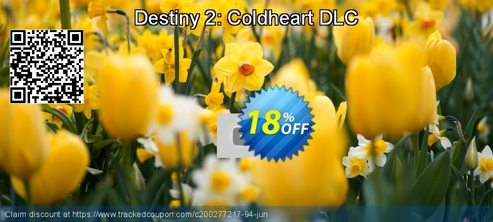 Destiny 2: Coldheart DLC coupon on Mom Day promotions