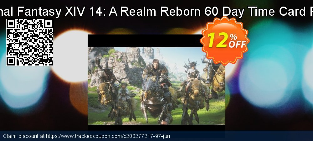 Final Fantasy XIV 14: A Realm Reborn 60 Day Time Card PC coupon on Mothers Day offer
