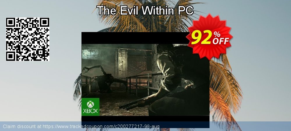 The Evil Within PC coupon on Mom Day discount