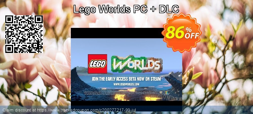 Lego Worlds PC + DLC coupon on Mothers Day offering discount