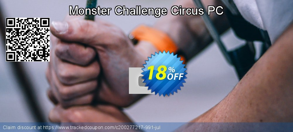 Monster Challenge Circus PC coupon on National Cleanup Day sales