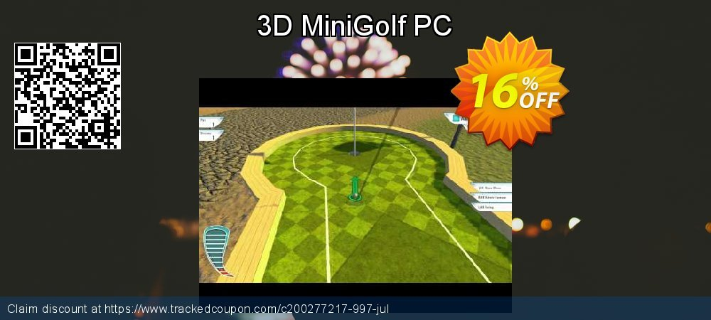 3D MiniGolf PC coupon on Lazy Mom's Day super sale