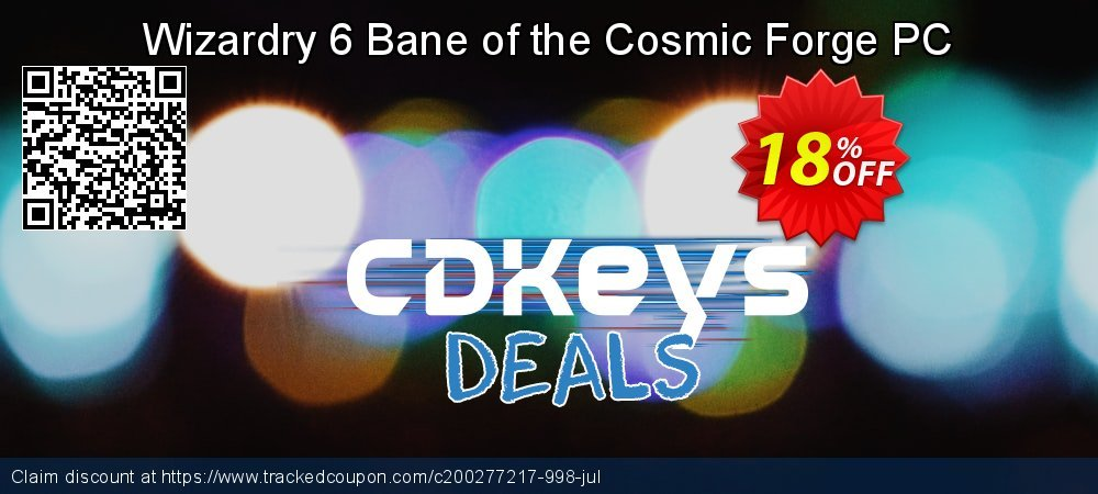 Get 10% OFF Wizardry 6 Bane of the Cosmic Forge PC offering sales