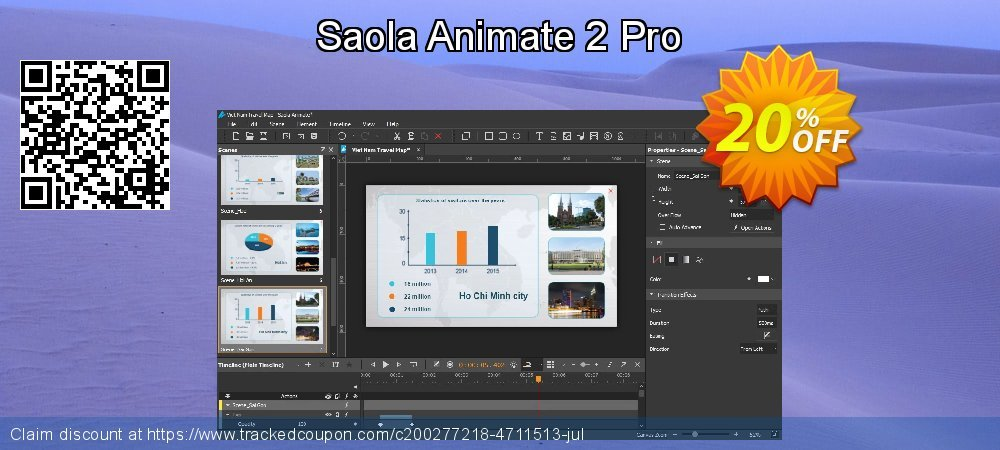 Saola Animate 2 Pro coupon on Back to School coupons discount