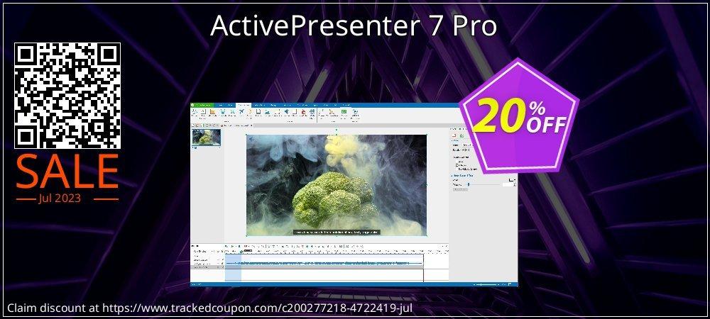 Get 20% OFF ActivePresenter 7 Pro offering sales