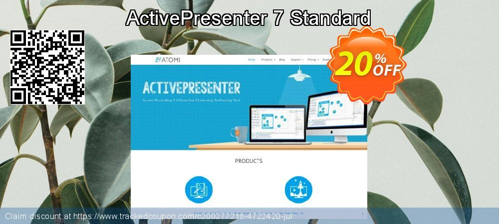 ActivePresenter 7 Standard coupon on New Year offering discount