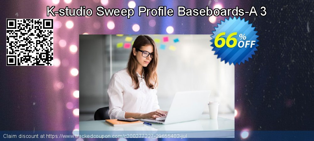 Sweep Profile Baseboards-A 3 coupon on Exclusive Student deals offering sales