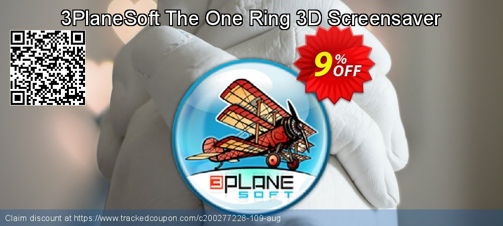 Get 5% OFF 3PlaneSoft The One Ring 3D Screensaver promotions