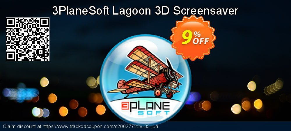 3PlaneSoft Lagoon 3D Screensaver coupon on New Year's Day super sale