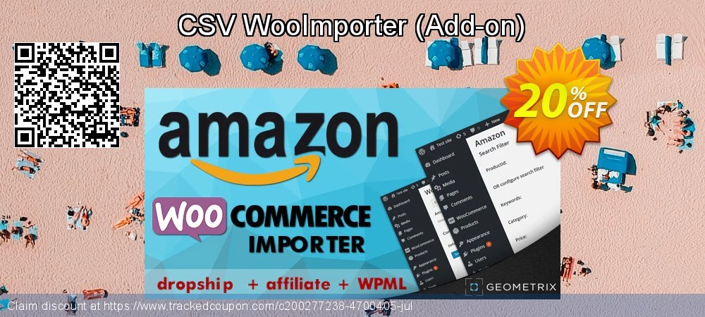 CSV WooImporter - Add-on  coupon on Black Friday super sale