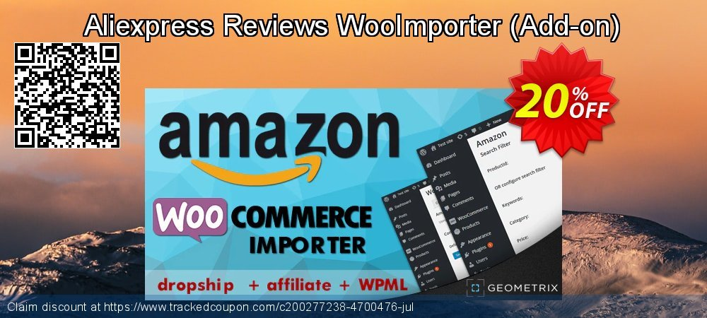 Aliexpress Reviews WooImporter - Add-on  coupon on Thanksgiving offering sales