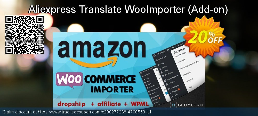 Aliexpress Translate WooImporter - Add-on  coupon on Thanksgiving discounts