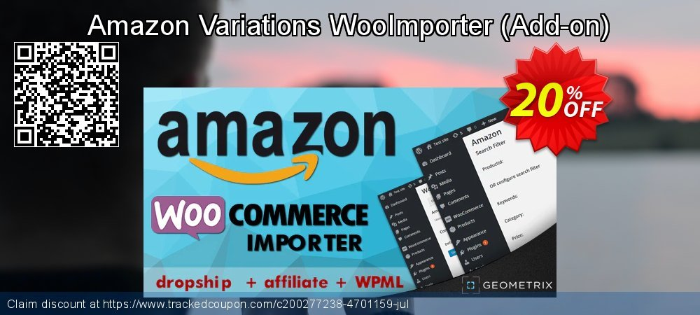 Amazon Variations WooImporter - Add-on  coupon on Spring super sale