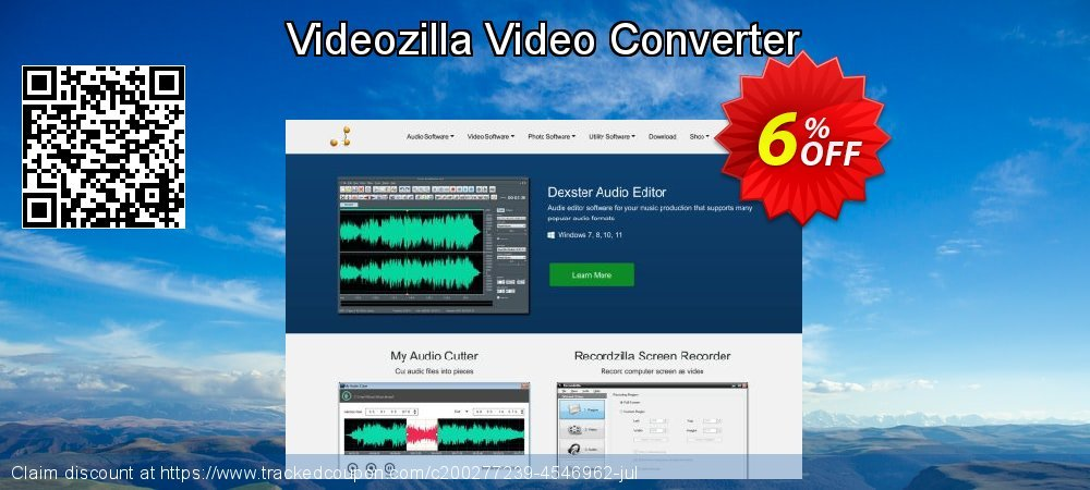 Videozilla Video Converter coupon on Super bowl offering sales
